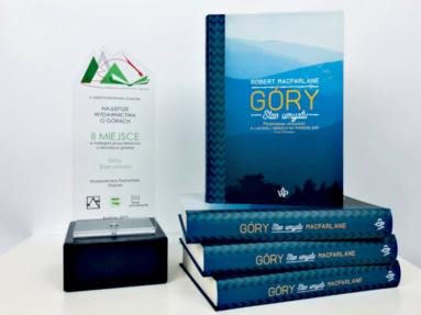 """Nagroda w konkursie """"Najlepsze wydawnictwa o górach"""" dla książki Roberta Macfarlane′a"""