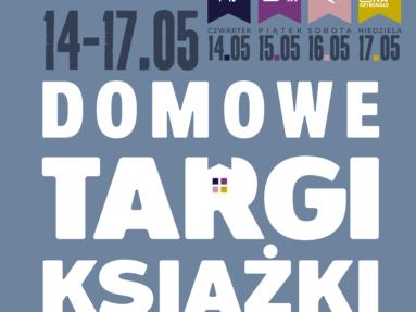 DOMOWE TARGI KSIĄŻKI 14 - 17. 05. 2020