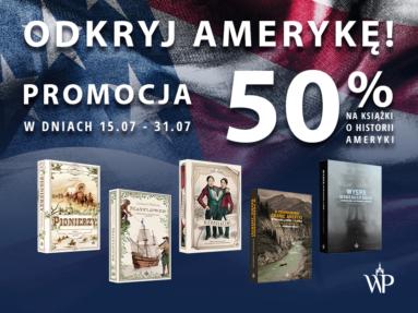 Odkryj Amerykę z Wydawnictwem Poznańskim!