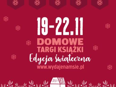 Domowe Targi Książki - edycja świąteczna