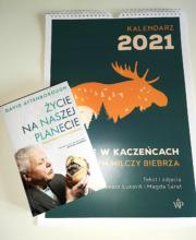 """Pakiet """"Życie na naszej planecie"""" i kalendarz 2021"""