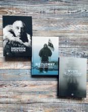 Pakiet polarny: Amundsen, Wyspa niebieskich lisów, Niezłomny